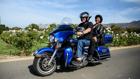 Join a small group of riders lead by an experienced tour guide who will take you on breath-taking roads that will show you just what a Harley-Davidson® can really do.